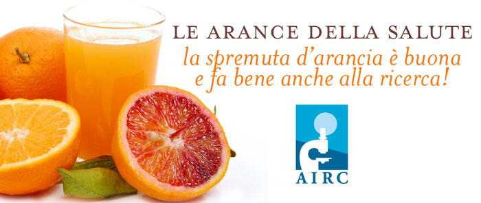 Arance e AIRC