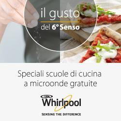 Scuola di Cucina al microonde Whirlpool