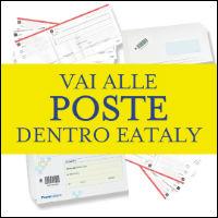 I servizi di Poste Italiane da Eataly Roma