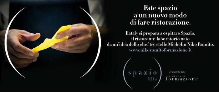 Niko Romito arriva a Eataly Roma
