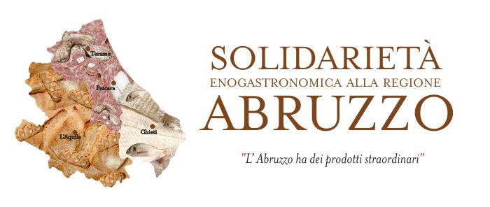 Solidarietà enogastronomica per l'Abruzzo