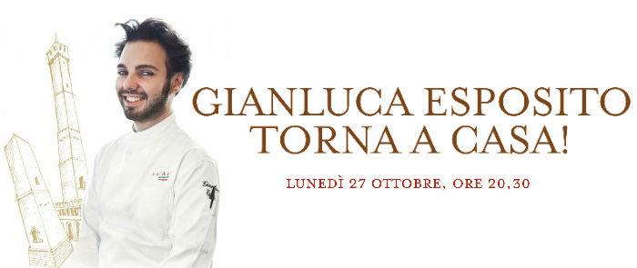 A cena con Gianluca Esposito