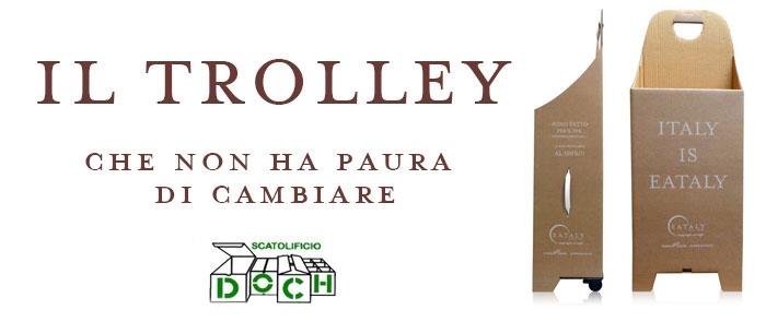 Il trolley di Eataly