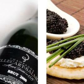 Incontri con i grandi produttori: Caviale e Champagne